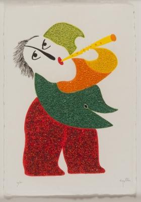 """""""Flautista"""". Joan Ripollés"""