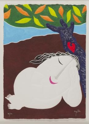 """""""Mujer dormida"""". Joan Ripollés"""