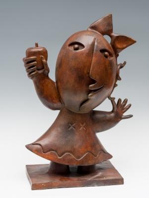 """Chica de la manzana"". JOAN RIPOLLES"