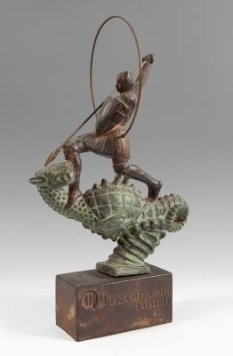 """Sant Jordi"", años 40-50. FIDEL AGUILAR MARCÓ"