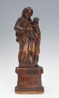 """""""Virgen con el Niño"""". Escuela española del s."""