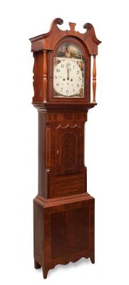 Reloj de pared. Inglaterra, s.