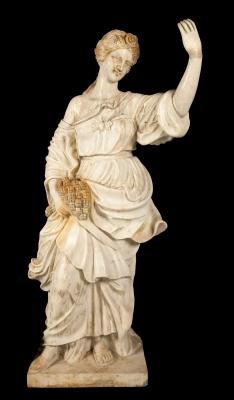 """""""Figura de Deméter o Ceres"""" Escuela europea, siglo XX."""