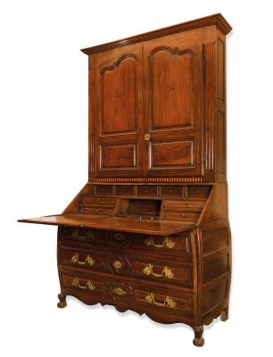 Importante buró escritorio Carlos III. España, 1770.