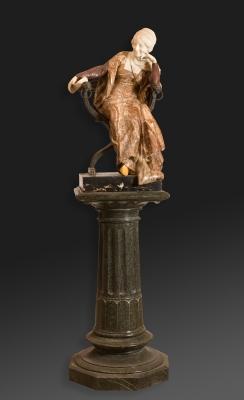 """Mujer sentada"". Ferdinando Vichi"