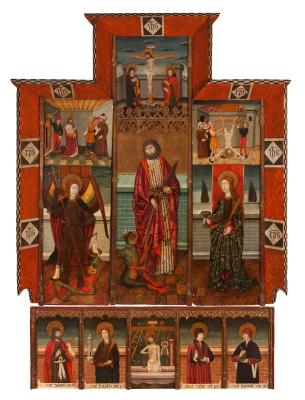 Pere Espallargues (documentado entre 1490-1495)Retabl