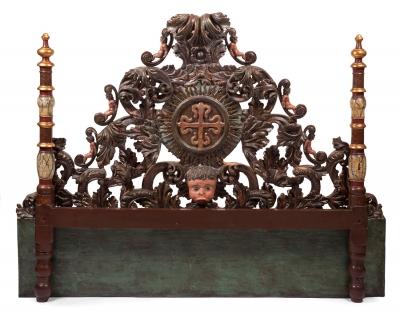 Estructura de cama; España, siglo XVIII.