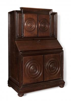 Aparador escritorio del siglo XVII.