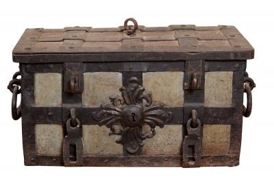 Caja fuerte. Alemania, siglos XVI-XVII.