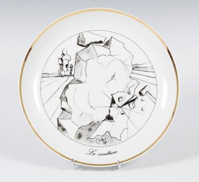 """""""La escultura"""" Salvador Dalí i Doménech"""