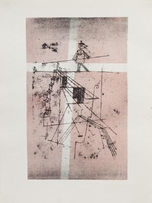 """""""Tightrope Walker"""", 1921. Paul Klee"""