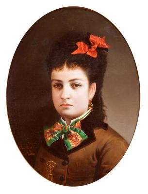 """Retrato de mujer"". PEÑA MUÑOZ, Maximino"