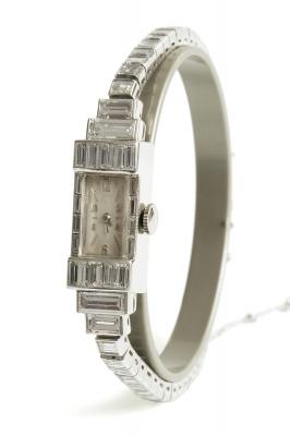 Reloj – joya Art Déco para señora, años 30.