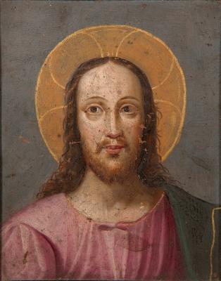 """""""Jesucristo"""". Escuela castellana del siglo XVII."""