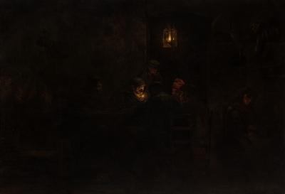 """""""Interior de taberna"""". GRANER ARRUFÍ, Luis"""