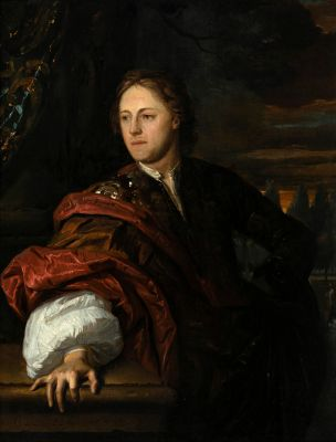 """""""Portrait of a gentleman"""", 1683. CAREL DE MOOR"""