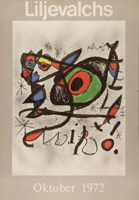 """""""Liljevalchs"""", 1972. MIRÓ I FERRÀ, Joan"""