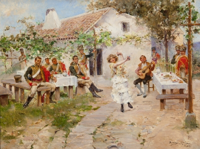 DAMINGO MUÑOZ CUESTA (Madrid, 1850 - 1935).