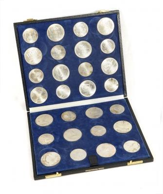 Colección de monedas conmemorativas de los Juegos Olímp