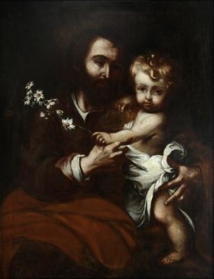 """""""San José con el Niño"""" LORENTE GERMÁN, Bernardo"""