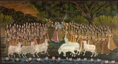 Escuela Pichhwai, India, s. XIX