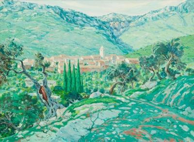 """Valldemosa, Mallorca"". Josep Castellanas Garrich"