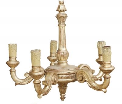 Lámpara de techo, siglo XIX.