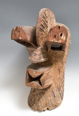 Máscara del pueblo Songye; R.D.