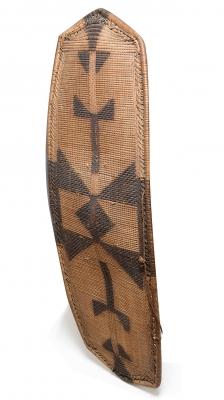 Escudo del Congo de finales del siglo XIX.