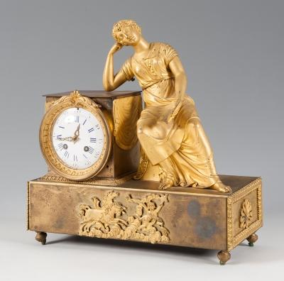 Reloj Imperio; Francia, ca.Reloj Imperio; Francia, ca