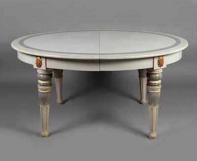 Mesa extensible estilo Gustaviano, s.XIX.