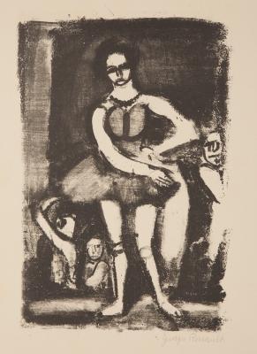 ROUAULT, Georges (París, 1871 – 1958). Sin título