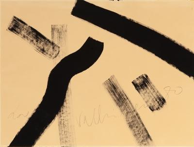 """""""Composición"""", 1980. VALLRIBERA FALCÓ, Josep"""