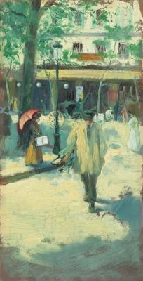 """""""Calle de París"""", 1899. ISIDRE NONELL"""
