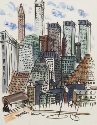 """""""Nueva York"""", 1986. CARLES NADAL FARRERAS"""