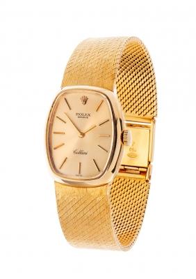 Reloj ROLEX Cellini para señora. En oro amarillo.