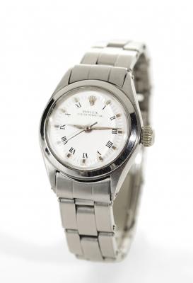 Reloj ROLEX Oyster Perpetual para señora.En acero.