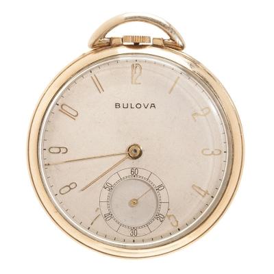 Reloj de bolsillo BULOVA Vintage.