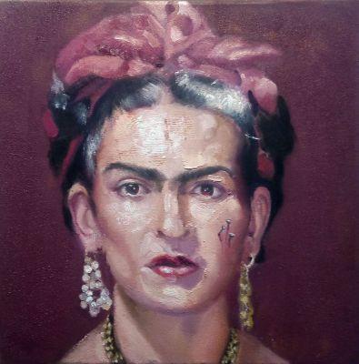 "PABLO SCHUGURENSKY (Catamarca, Argentina, 1954). ""Frida"