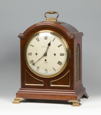Reloj de sobremesa de época eduardiana MAPLE & CO.