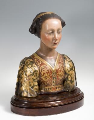Busto de dama de corte