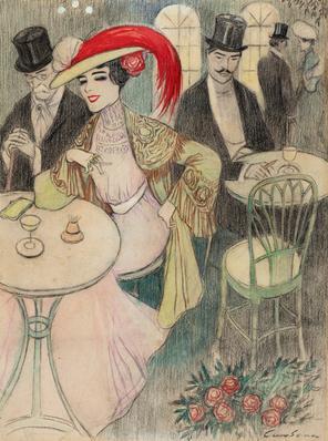 JOAN CARDONA I LLADÓS (Barcelona, 1877 - 1957).