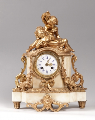 Reloj de sobremesa; Francia, siglo XIX.
