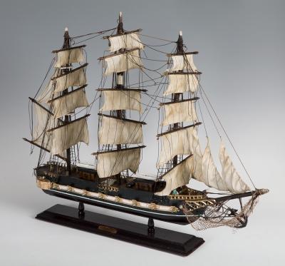 "Maqueta de barco ""President"", primera mitad del siglo XX."
