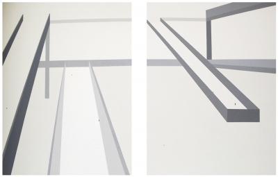 """""""Paseantes 26"""", 2008. WILLSON, Isadora"""
