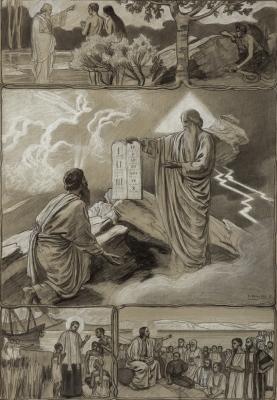 """""""Escenas bíblicas"""". Dionís Baixeras Verdaguer"""
