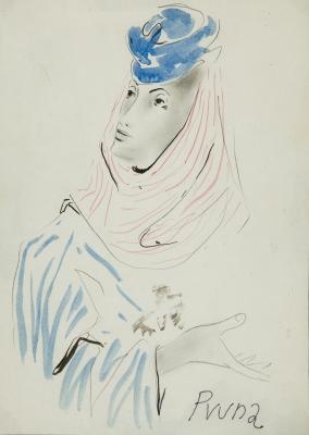 """""""Retrato"""". Pere Pruna Ocerans"""