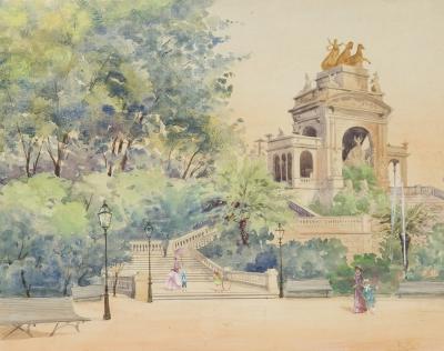"""""""Parque de la Ciutadella"""". Ricardo Martí Aguiló"""