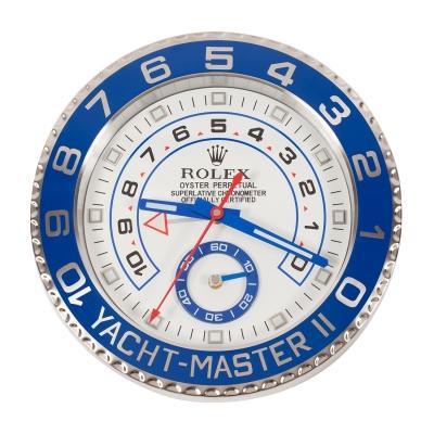 Réplica de pared del reloj YACHT-MASTER II. El Rolex