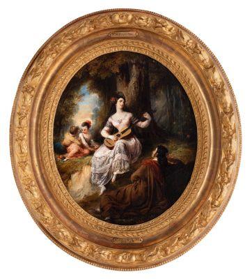 ALEXANDRE-MARIE COLIN, (Paris, 1798-1875).